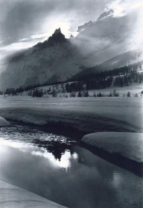 Controluce in Val Ferret - 1945